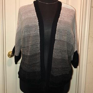 NWT Westbound Cable Knit Open Front Cardigan XL